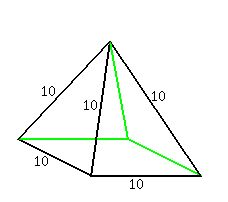 Lesson Solved problems on volume of pyramids