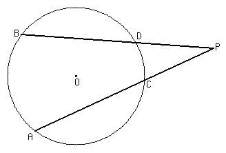 Lesson Solved problems on secants that intersect outside a circle