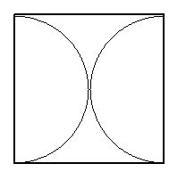 SOLUTION: Two semicircles are placed in a rectangle. The