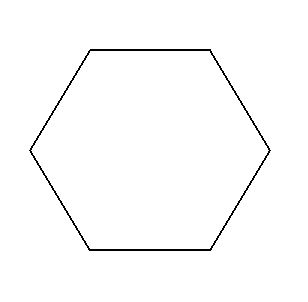 SOLUTION: make a regular hexagon of sides as you wish and divide ...