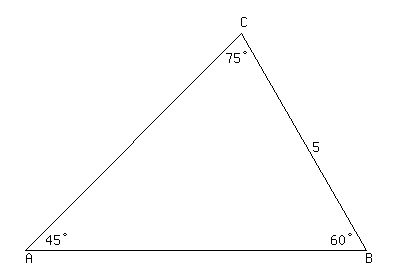 Solution Find The Sides To 2 Decimal Places Of The