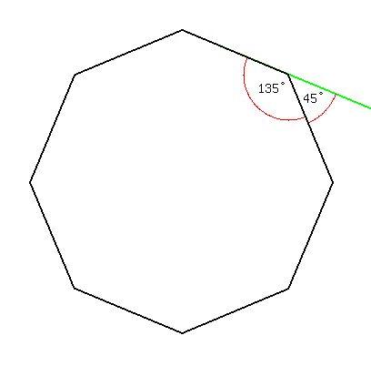 Solution each interior angle of a regular polygon is - Exterior angle of a regular polygon ...