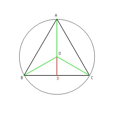 SOLUTION: How long are the sides of an equilateral