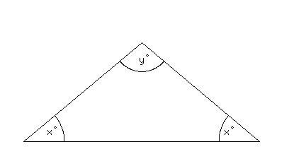 Vertex Angle Of An Isosceles Triangle