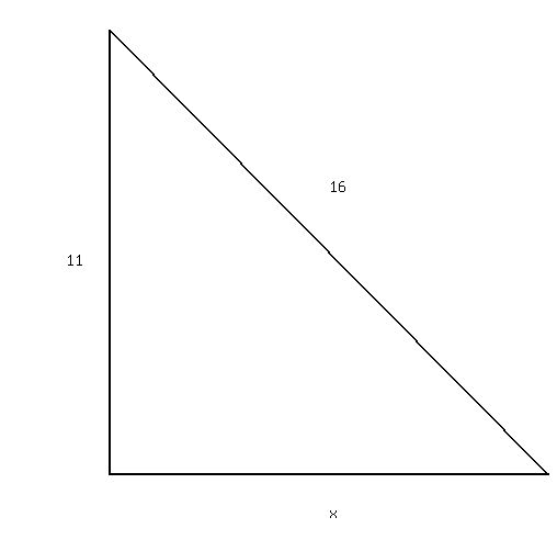 how to get the hypotenuse of a triangle