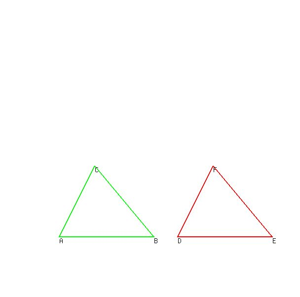 SOLUTION: Can someone explain this to me, Thanks Draw two triangles