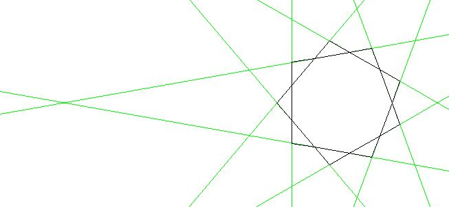 Solution The Nine Pointed Star Shown Here Has A Regular
