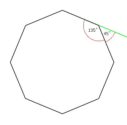Solution Each Interior Angle Of A Regular Polygon Is Thrice Each Exterior Angle Find The