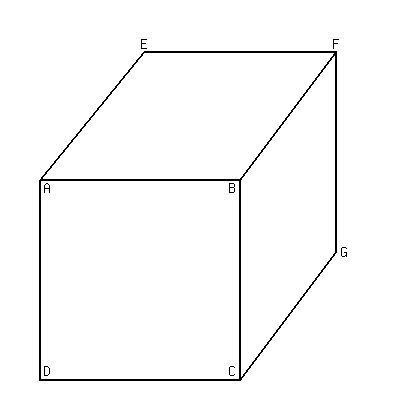 SOLUTION: A cube of side length s sits inside a sphere of
