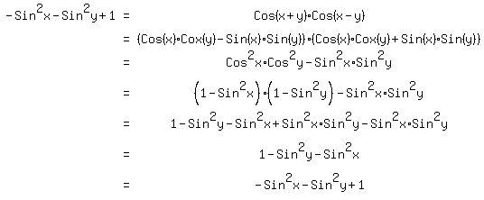 Sin x cos x formula
